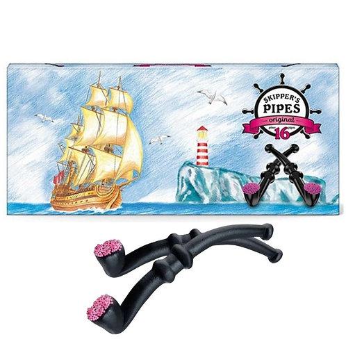 Skipper'S Box Of Licorice Pipe (16 pipes/box)