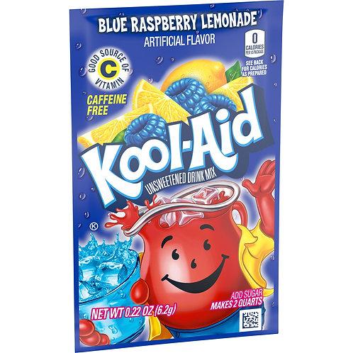 Kool-Aid. Blue Raspberry 2quart unsweetened