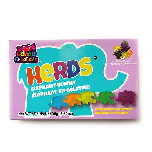 Gummy Herd Elephants