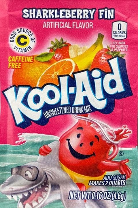 Kool-Aid. Sharkle Berry 2quart unsweetened