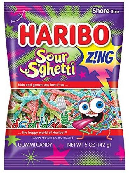 Haribo Hang Bags Sour S'Ghetti