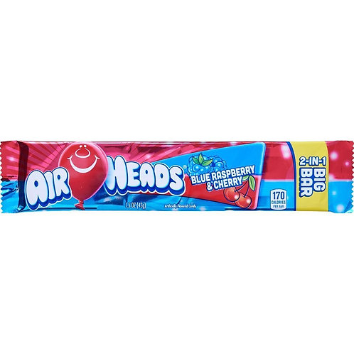 Airheads Big Bar - Cherry/Blue Raspberry