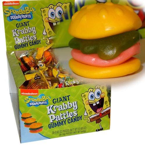 Gummy Giant Krabby Patties