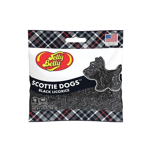 Jelly Belly Black Licorice Scottie Dogs
