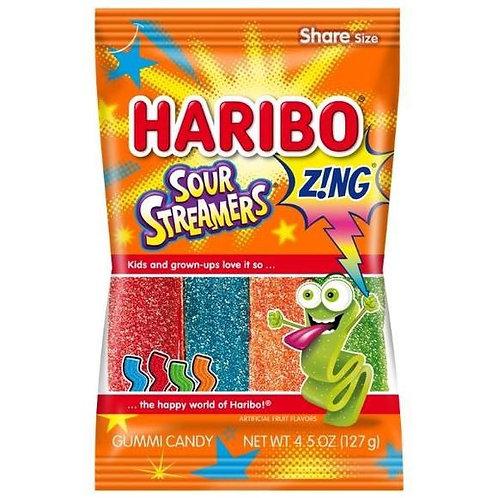 Haribo Hang Bags Sour Streamers