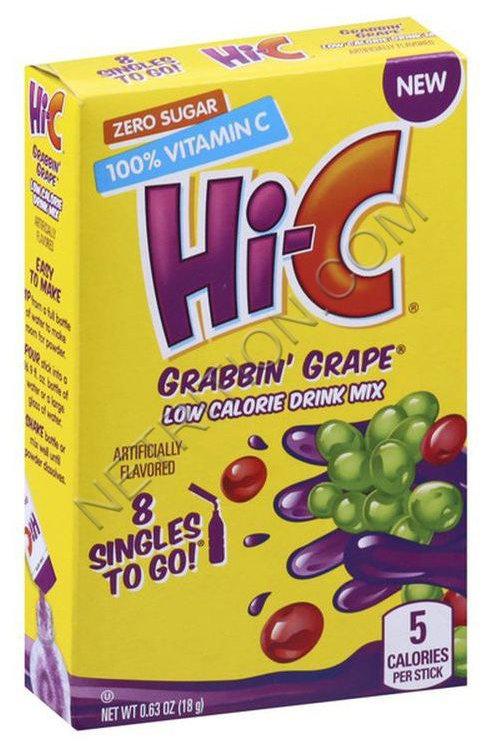 Hi-C Grape Singles To Go
