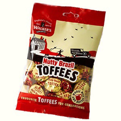 Walkers Toffees Nutty Brazil