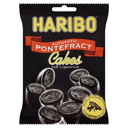 Haribo Hang Bags Pontefrac Cakes