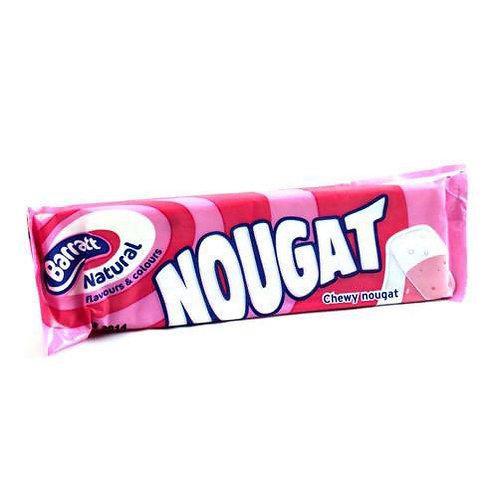 Raspberry Nougat Bar
