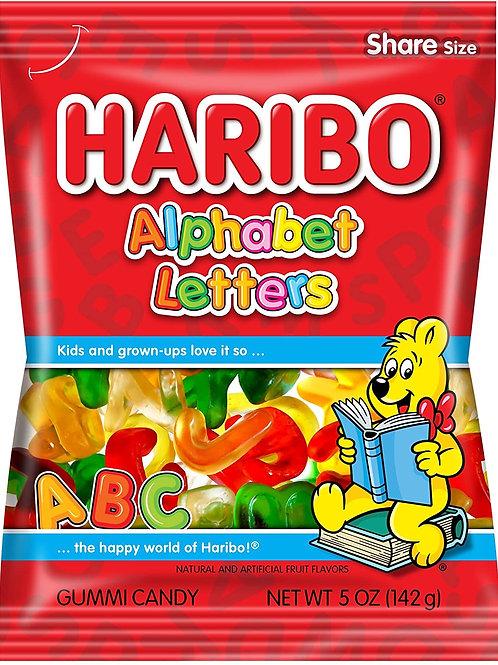 Haribo Hang Bags Alphebets