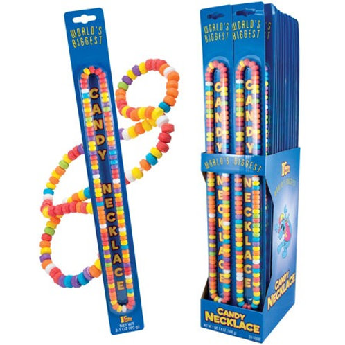 Worlds Largest Candy Necklace