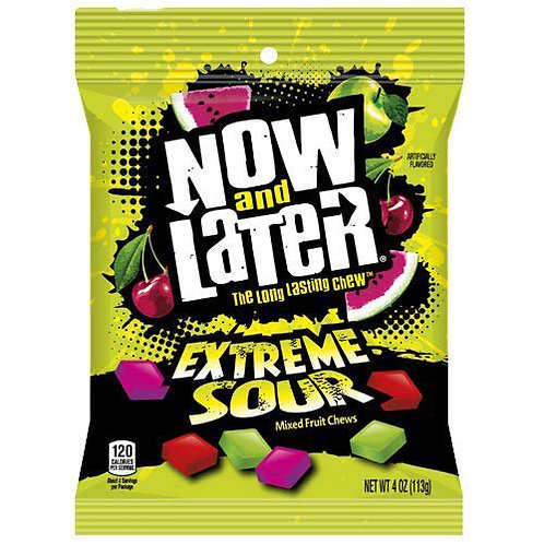 Now And Later Sour Bag