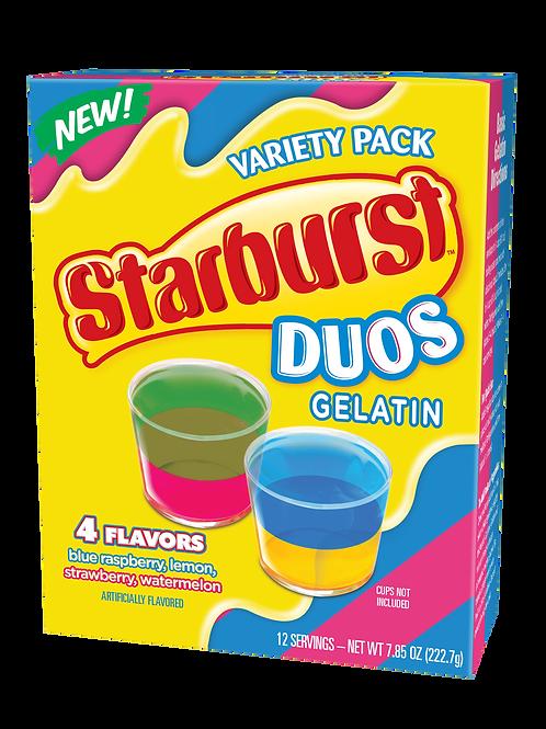 Starburst Duos Gelatin