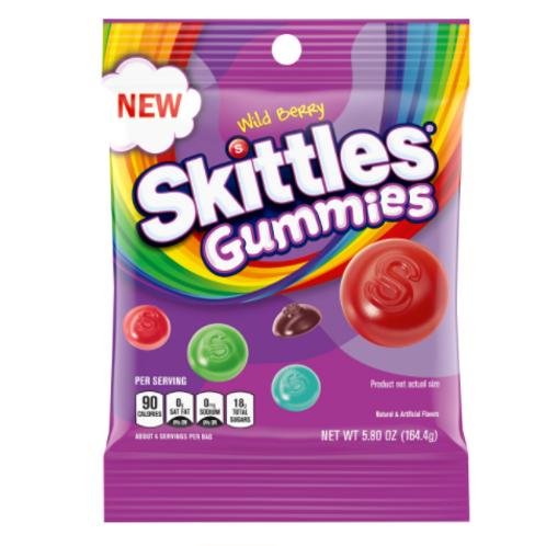 Skittles Gummies Berry