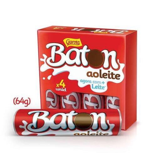 Garoto Baton Chocolate 4Pk