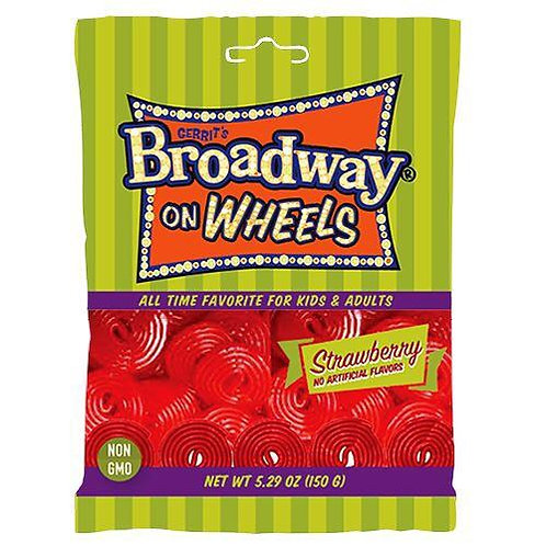 Broadway On Wheels red