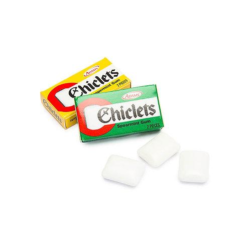2 Pcs Chiclet - Mint