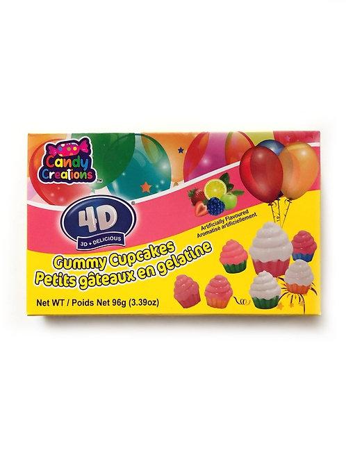 4D Cupcake Gummies