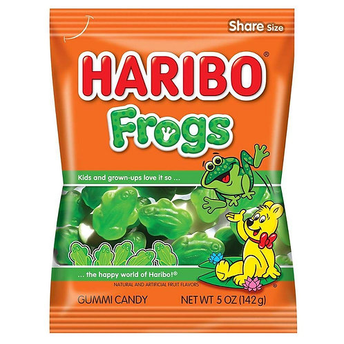Haribo Hang Bags Green Frogs