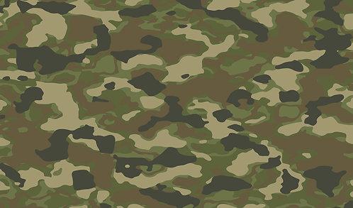 Camouflage Patterned Vinyl