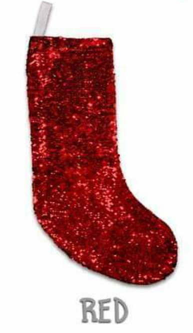 Sequin Christmas Stocking (Sublimation)
