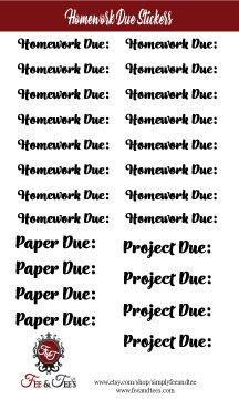 Script Stickers