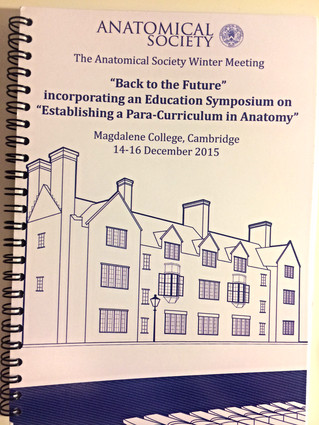 University of Cambridge: A para-curriculum in Anatomy
