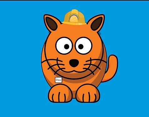 The Hard-Hat Handy Cat