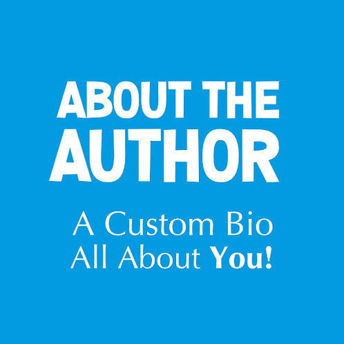 About The Author Bio Write-Up