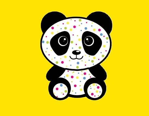 The Speckled-Hair Panda Bear