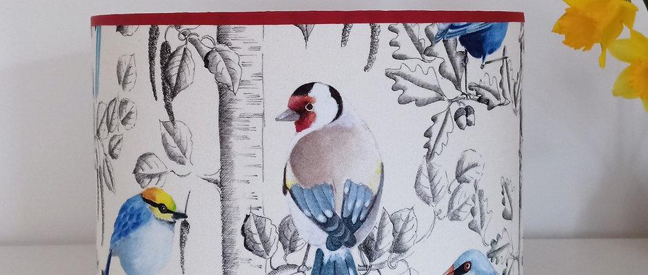 Joseph - Oiseaux sur décor gris