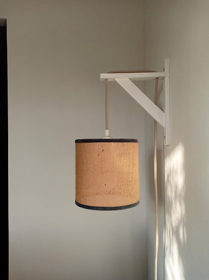 Lampe Chiara en toile de Jute