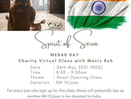 Wesak Day 2021 Charity Virtual Class