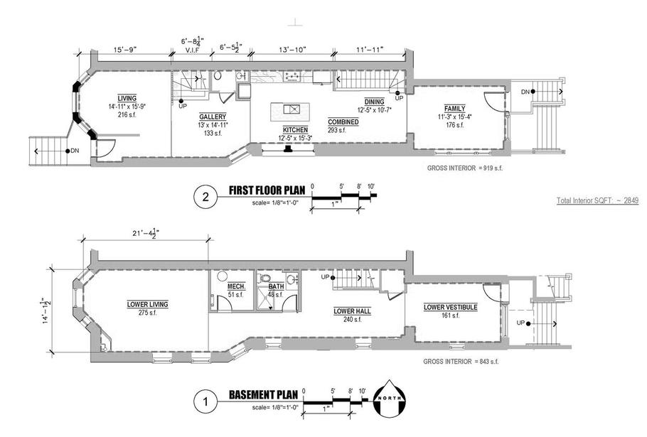 Basement, First Floor