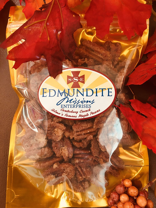 Canterbury Crunch: Selma's Famous Maple Pecans