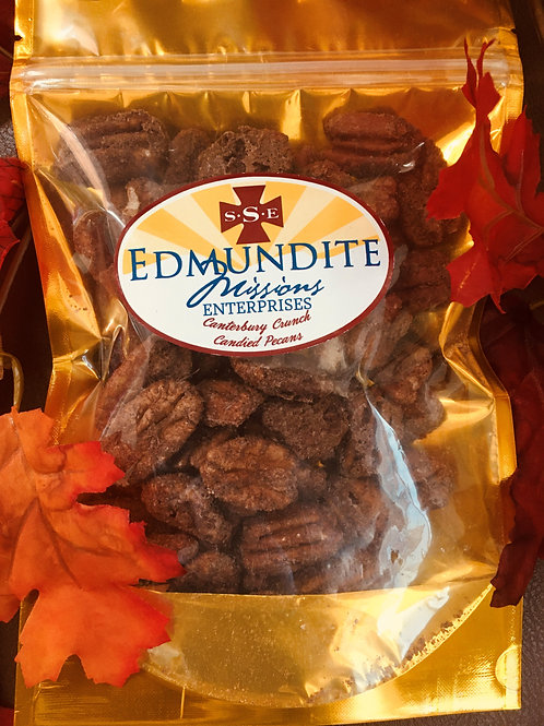 Canterbury Crunch: Candied Pecans