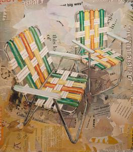 """""""2 Aluminum Chairs""""   2016"""
