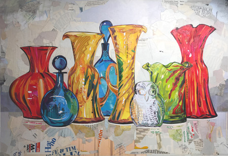 """""""Splendid Collection of Colored Glass""""   2019"""