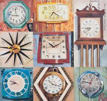 """""""8 Wall Clocks""""   2014"""