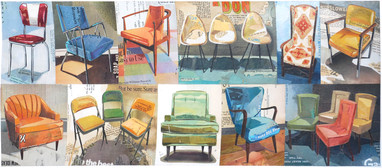 """""""18 Chairs""""  2014"""