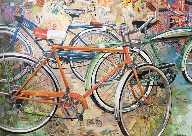"""""""3 Vintage Bicycles"""""""