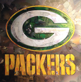 """""""Packers In Green/Gold""""   2017"""