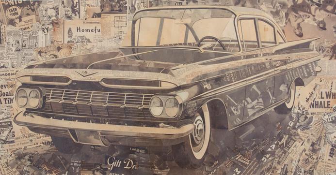 """59 Chevy Impala""  2012"
