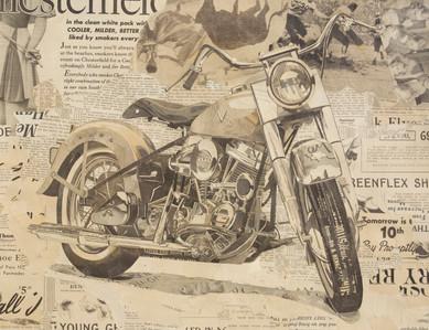 """""""55 Harley Davidson Panhead""""   2012"""