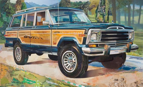 """Jeep Wagoneer""   2016"