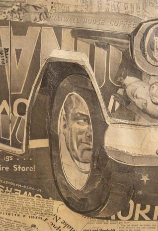 """56 Chevy Pickup"" (detail)  2011"