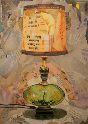 """""""Glass-Bottomed Table Lamp""""   2015"""