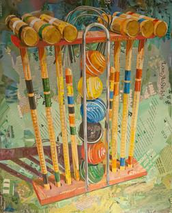 """""""Technicolor Croquet Set""""   2015"""