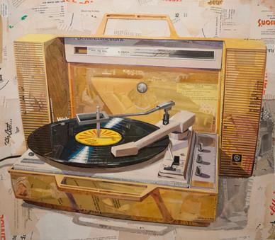 """Turntable In Mustard Yellow""  2015"