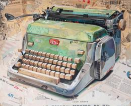 """""""Royal Typewriter in Green""""   2015"""